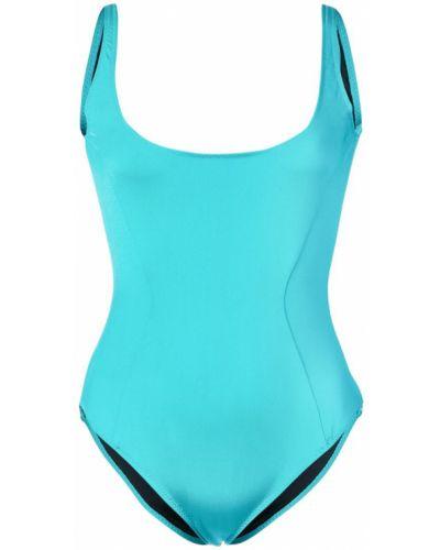 Синий слитный купальник Fleur Du Mal