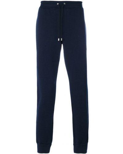 Спортивные брюки с карманами шерстяные Versace