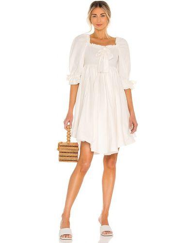 Biała sukienka bawełniana Selkie