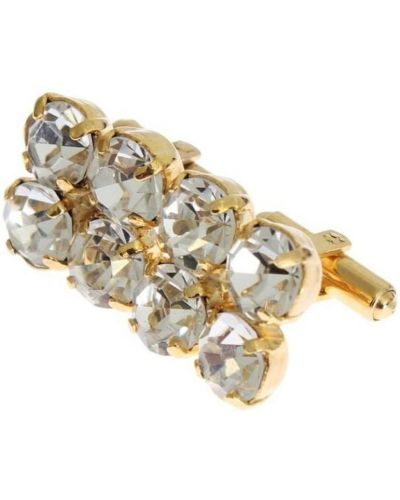 Złote spinki do mankietów Dolce And Gabbana