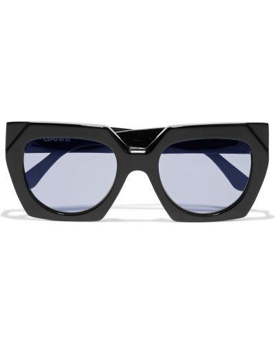 Etui na okulary - czarne Ganni