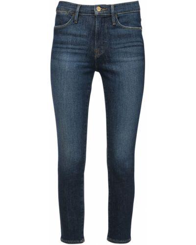 Зауженные укороченные джинсы с карманами с пайетками в стиле бохо Frame