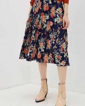 Платье плиссированное осеннее Yumi