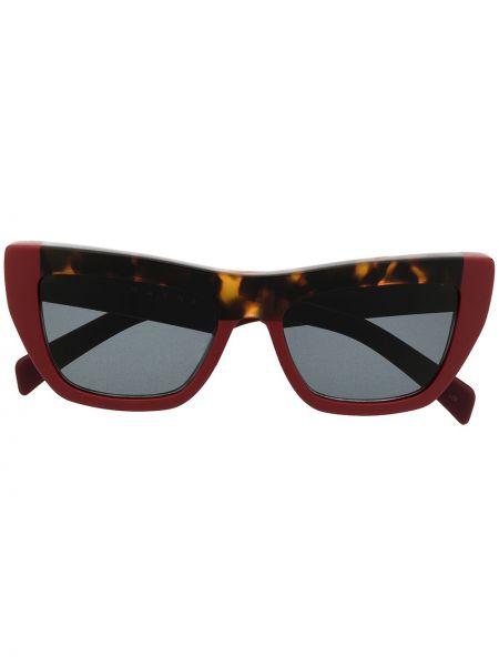 Красные солнцезащитные очки Marni Eyewear