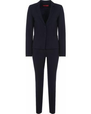 Шерстяной костюм - синий Hugo Boss