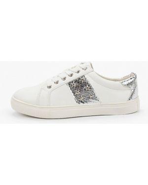 Белые кроссовки из искусственной кожи Zenden First