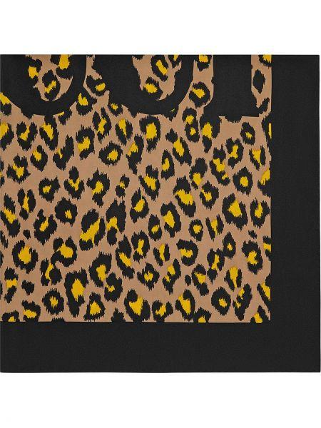 Платок леопардовый Gucci