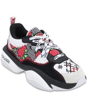 Sneakersy sznurowane koronkowe z haftem Puma Select