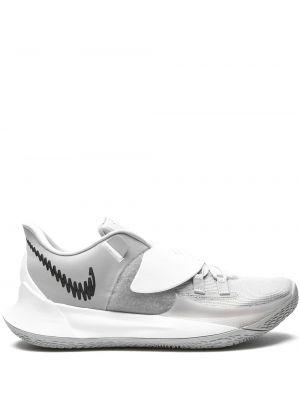 Кружевные серые кроссовки на шнурках Nike