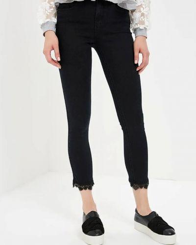 Черные хлопковые джинсы Lost Ink.