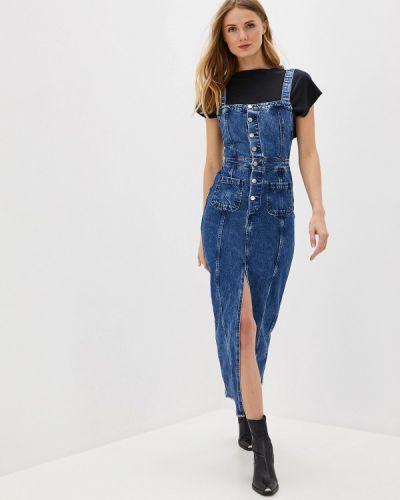 Джинсовое платье осеннее турецкий Pepe Jeans