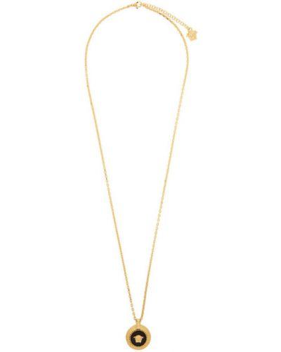 Wisiorka ze złota okrągły złoto Versace