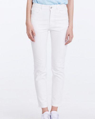 Белые джинсы-скинни Musthave