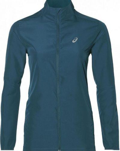 Куртка трикотажная синий Asics