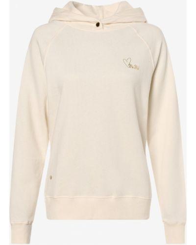 Bluza z nadrukiem z printem - biała Mos Mosh