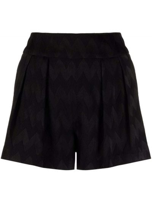 Черные шорты из вискозы Missoni