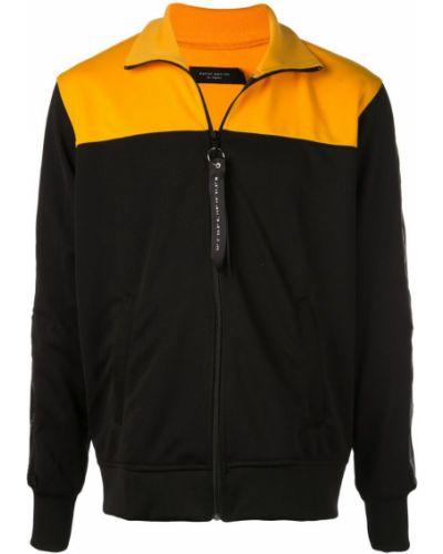 Спортивная куртка черная на молнии Daniel Patrick