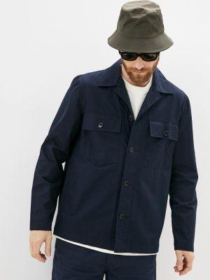 Рубашка с длинным рукавом - синяя Wood Wood