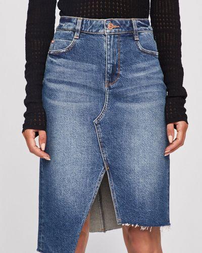 Юбка миди джинсовая на пуговицах Miss Sixty