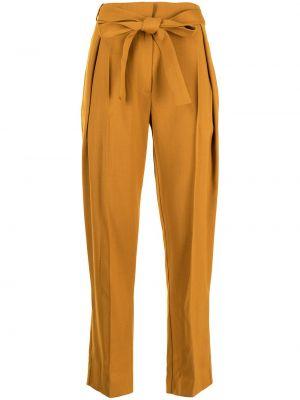 Укороченные брюки - коричневые Roksanda