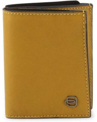 Żółty portfel Piquadro