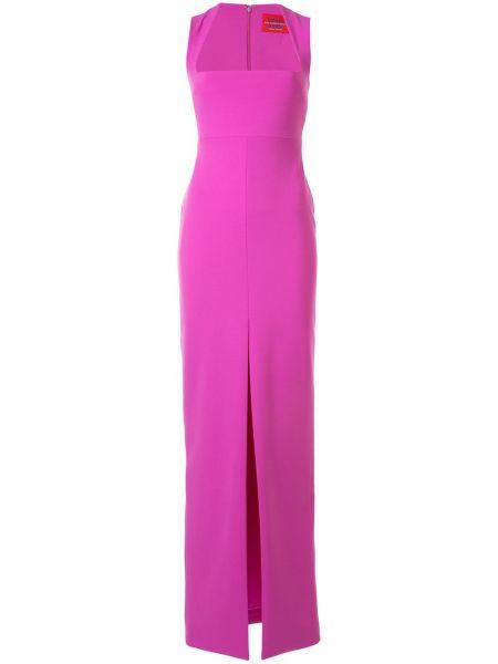 Вечернее платье с кружевными рукавами с рукавами Solace London