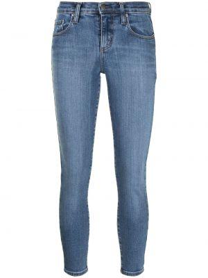 Облегающие синие джинсы-скинни на молнии Nobody Denim