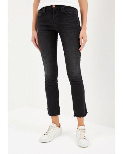 Черные джинсы-скинни True Religion