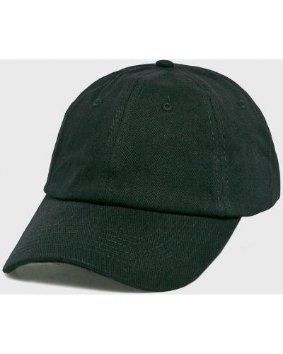 Черная шапка хлопковая True Spin