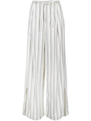 Шерстяные брюки - белые Eudon Choi