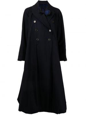 Длинное пальто - синее Comme Des Garçons Noir Kei Ninomiya