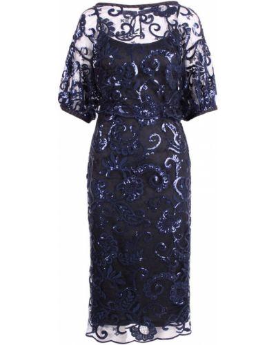 Sukienka z cekinami tiulowa na co dzień Antonio Marras
