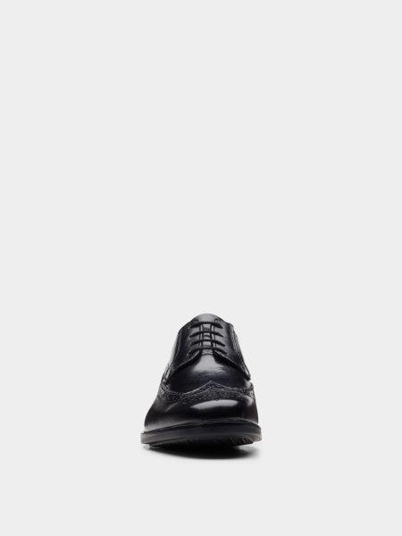 Черные туфли на шнуровке Clarks