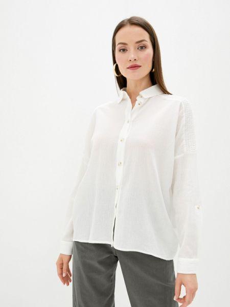 Рубашка с длинным рукавом белая Sweewe