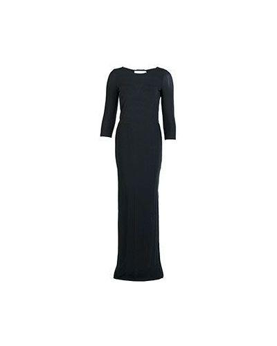 Платье в полоску с V-образным вырезом Patrizia Pepe