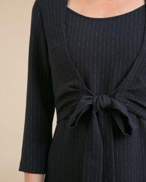 Платье макси в полоску платье-сарафан Emka