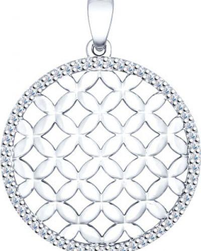 Серебряная подвеска серебряный Sokolov