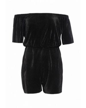 Комбинезон с шортами черный индийский Jennyfer