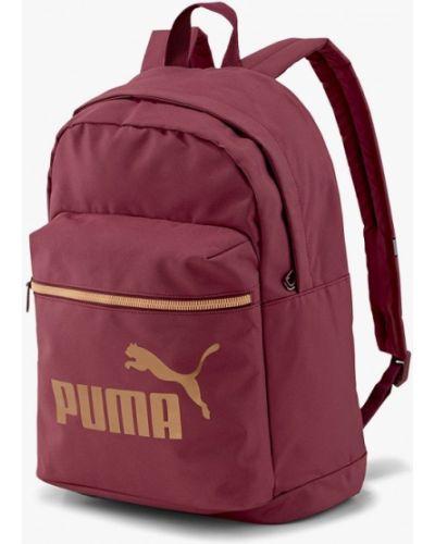 Бордовый текстильный рюкзак Puma