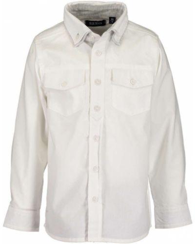 Рубашка белая с узором Blue Seven