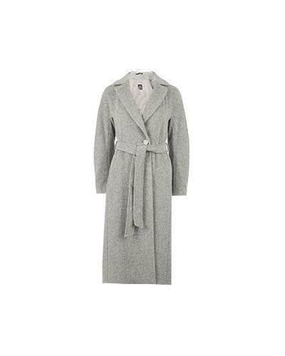 Серое пальто Cinzia Rocca