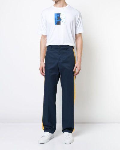Прямые брюки с лампасами Heron Preston