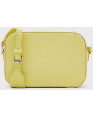 Кожаная кожаная сумка Marina Volpe