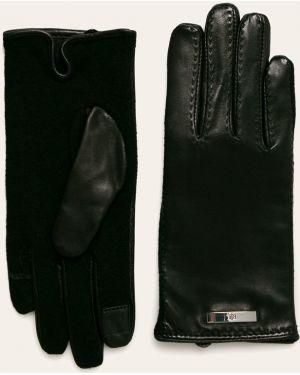 Skórzany rękawiczki Lauren Ralph Lauren