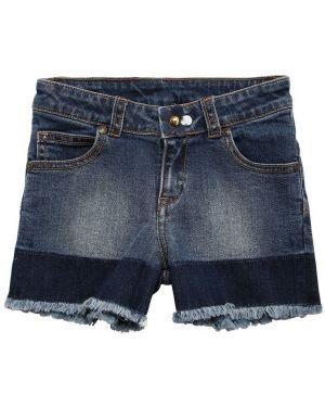 Джинсовые шорты на молнии Little Marc Jacobs