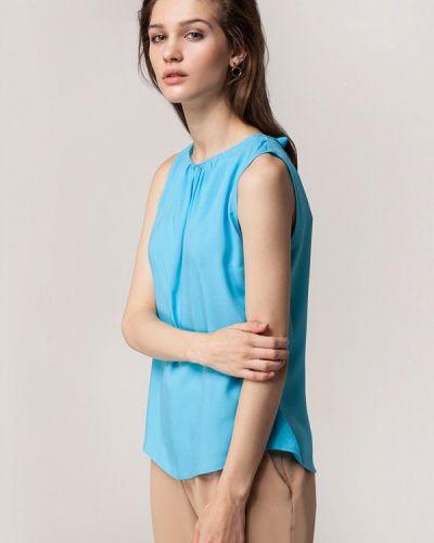Голубая блузка Vilatte