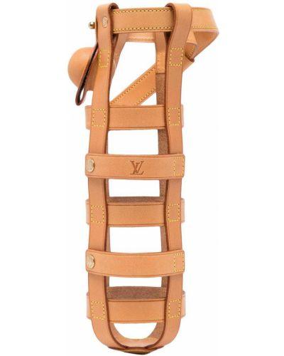 Кожаные футляр для очков Louis Vuitton