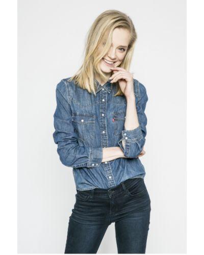 Синяя блузка прямая Levi's®