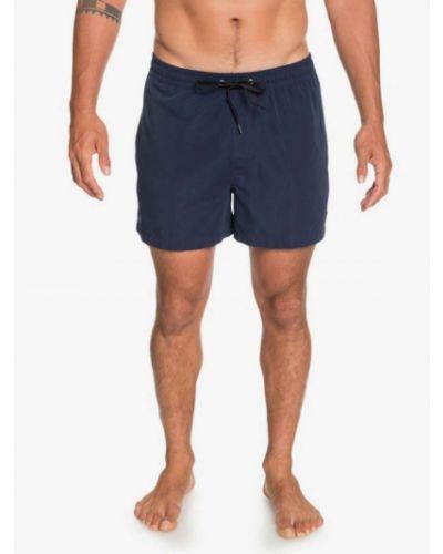 Boardshorty na co dzień zamszowe z siateczką Quiksilver