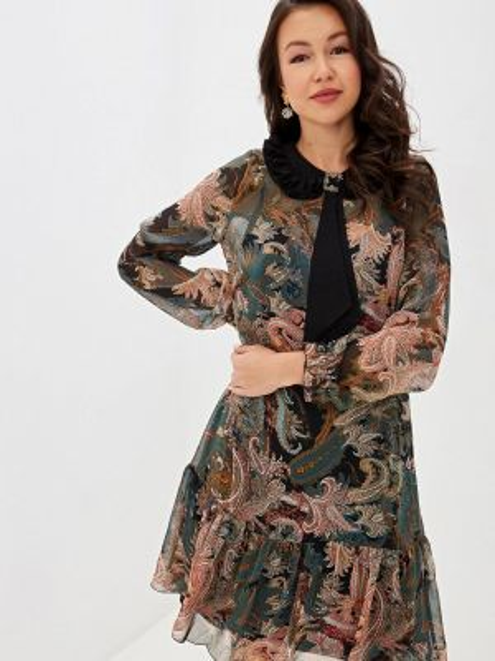 Платье осеннее прямое Vera Moni